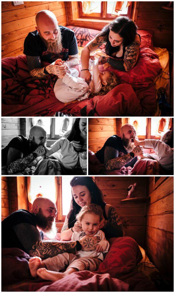 reportage fotografico famiglia